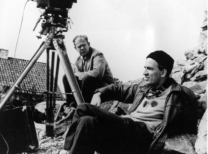 Ingmar Bergman och Sven Nykvist. Foto: Wikimedia