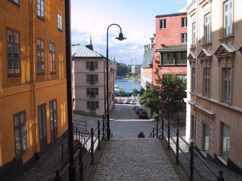 Hus på Södermalm. Foto: Stern