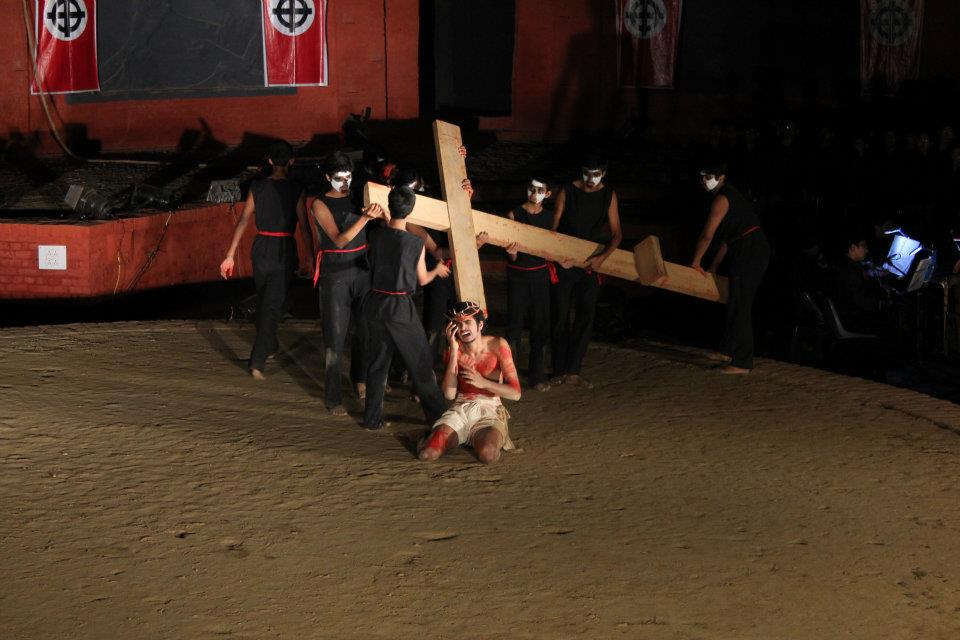 Jesus_Christ_Superstar_på_The_Doon_School, Indien. Foto: Weberroyd