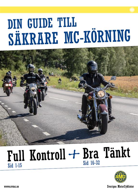 Bild på en grupp mc-åkare. Foto: Sveriges MotorCyklister