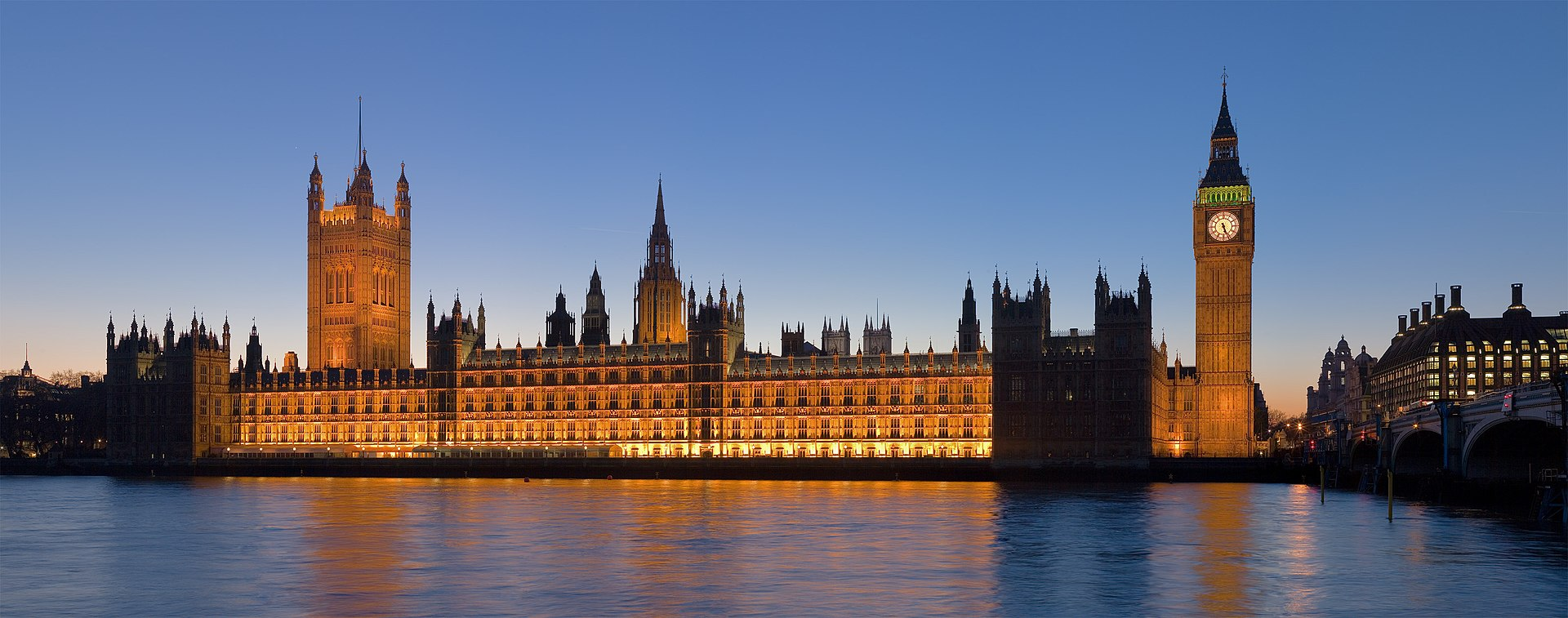 Palace of Westminster. Foto: Diliff