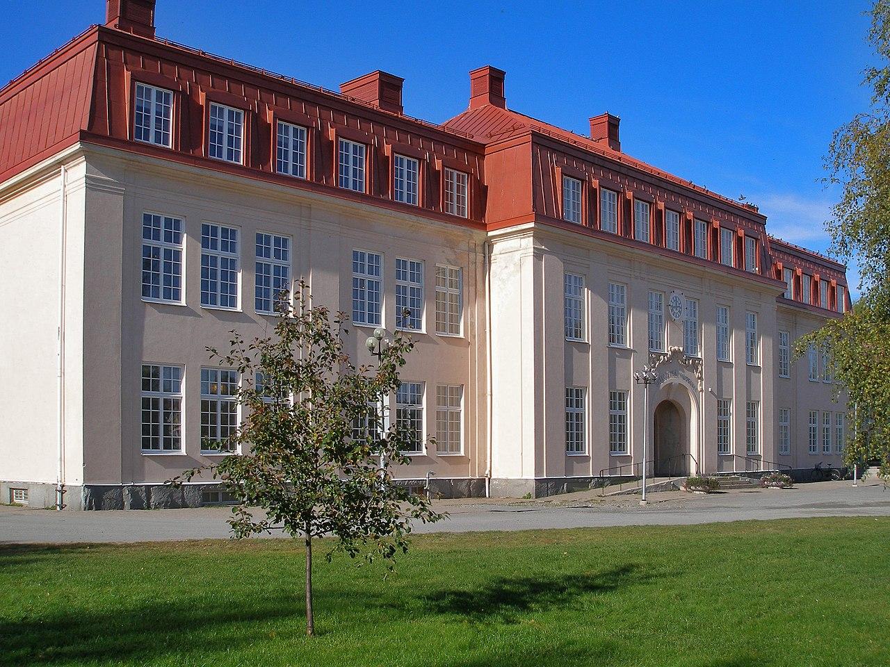 Skellefteå museum. Foto. Jlundqvi